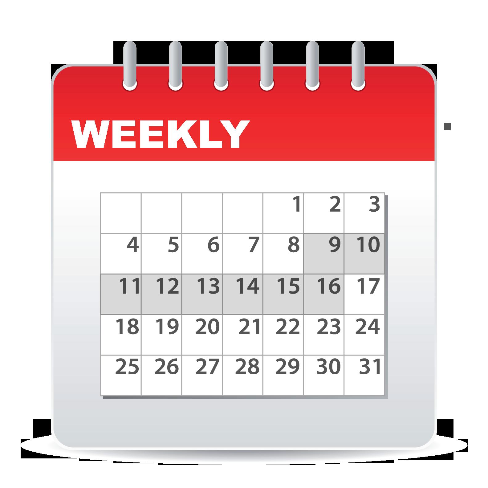 Weekly Rent Calendar : Audio rental ohio camera grip lighting